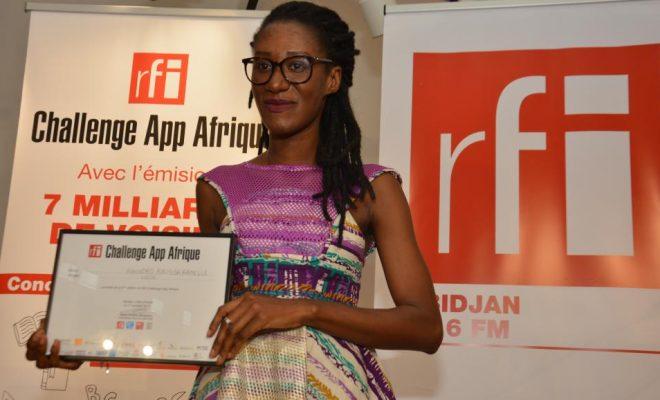 Raissa Banhoro, Prix RFI Challenge App Afrique