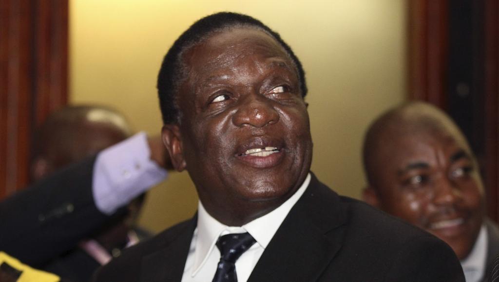 Le vice-président zimbabwéen limogé, Emmerson Mnangagwa