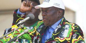 Emmerson Mnangagwa, le vice-président limogé