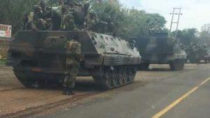 L'armée a pris le contrôle de tous les points stratégiques de la capitale