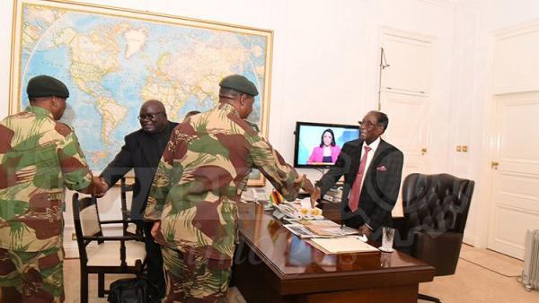 Robert Mugabe, Moi Pas Bougé !