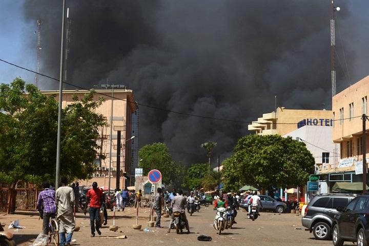 La circulation a repris dans le centre ville de Ouagadougou